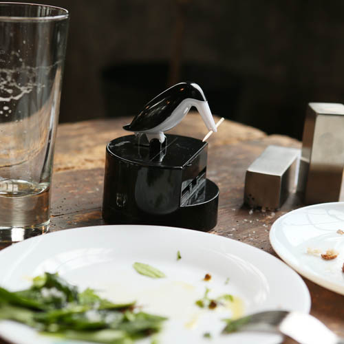 BIRD TOOTHPICK SERVER