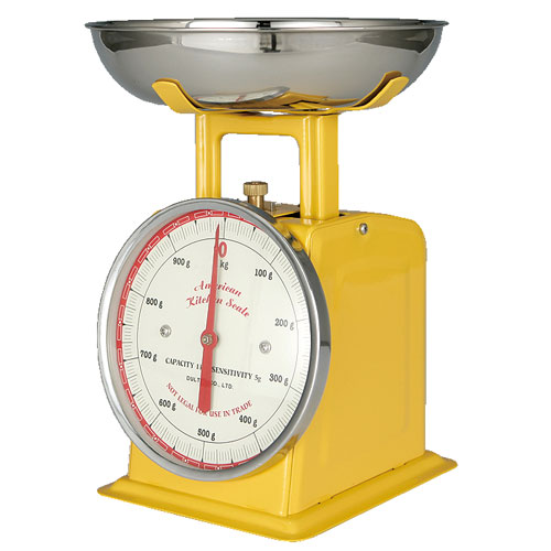 RoomClip商品情報 - AMERICAN KITCHEN SCALE YELLOW