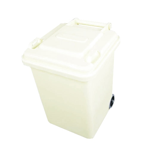 PLASTIC TRASH CAN 18L IVORY