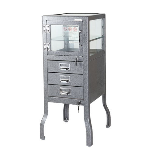 DENTIST CABINET 3 GRAY