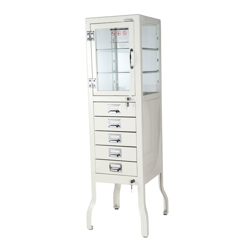 DENTIST CABINET 5 IVORY