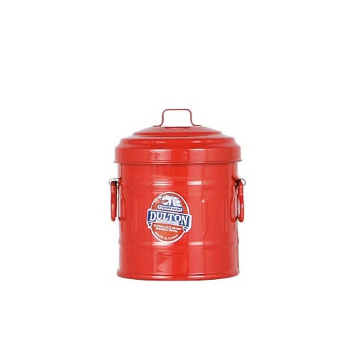 MICRO GARBAGE CAN RED