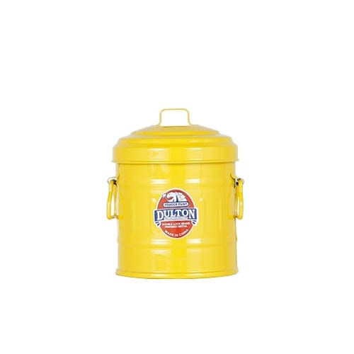 MICRO GARBAGE CAN YELLOW