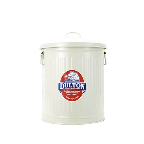 MINI GARBAGE CAN IVORY-S