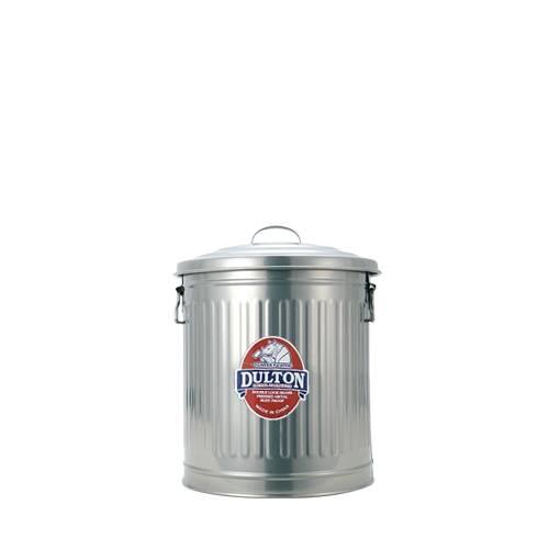 MINI GARBAGE CAN SILVER-M