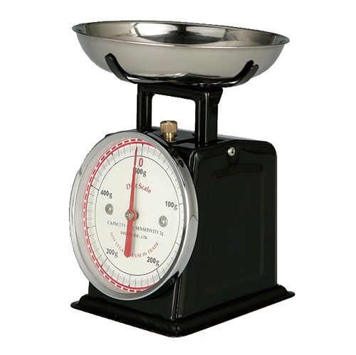 DIET SCALE BLACK
