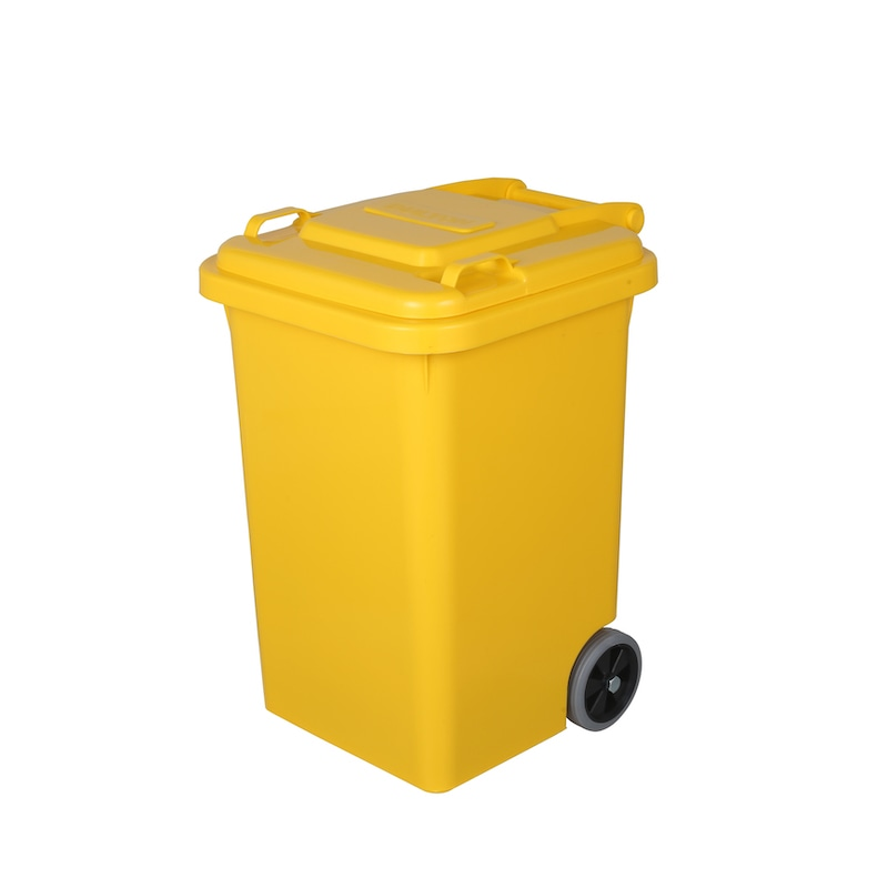 RoomClip商品情報 - PLASTIC TRASH CAN 45L YELLOW