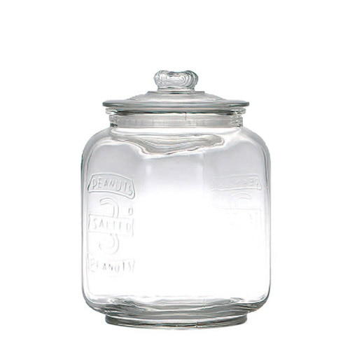 GLASS COOKIE JAR 3L