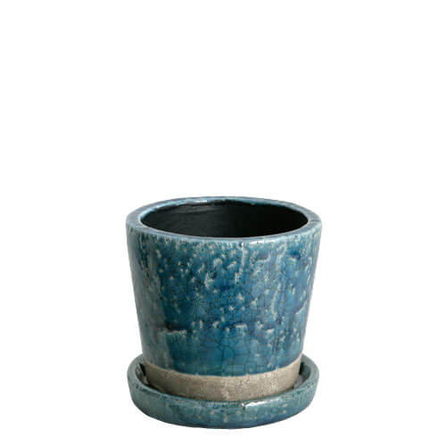 RoomClip商品情報 - COLOR GLAZED POT  MIDNIGHT BLUE