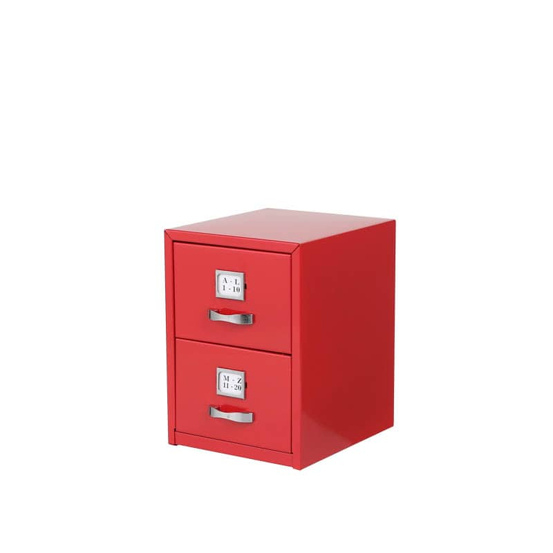 RoomClip商品情報 - METAL CARD CABINET RED