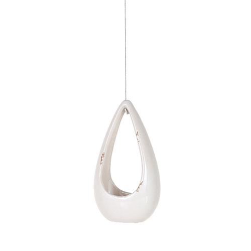 RoomClip商品情報 - WIRE HANGING VASE S  WHITE