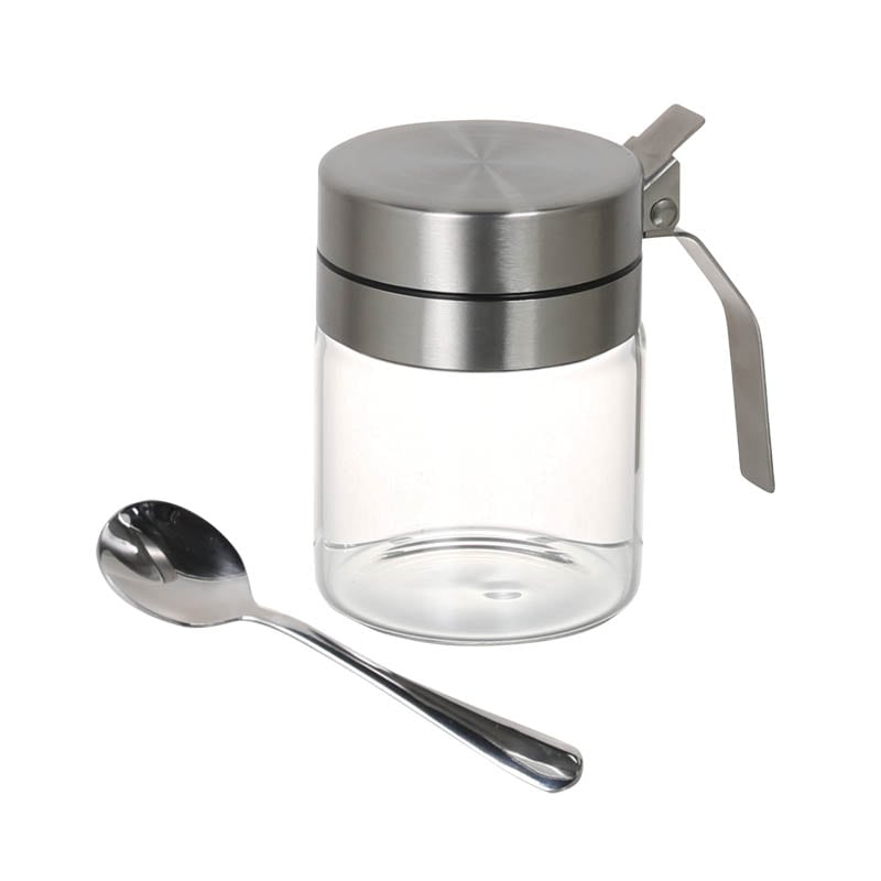 SPICE JAR WITH SPOON