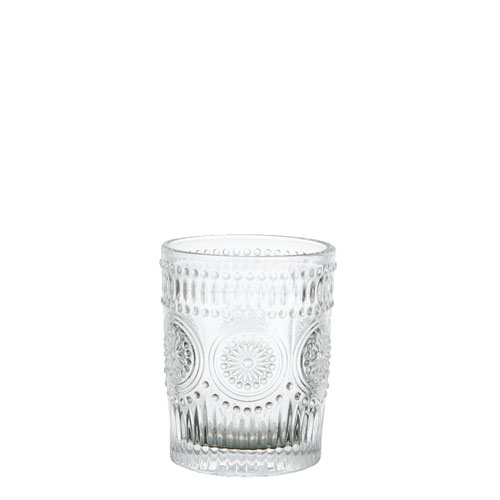 "GLASS TUMBLER S ""MARGUERITE"""
