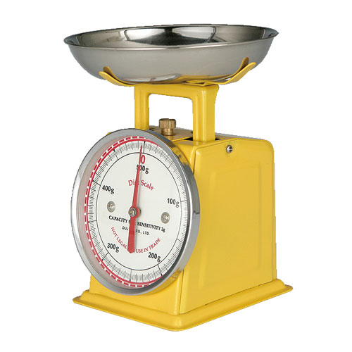 DIET SCALE YELLOW