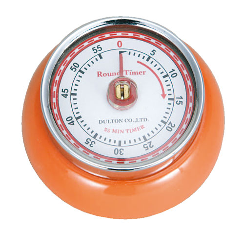 KITCHEN TIMER WITH MAGNET ORANGE