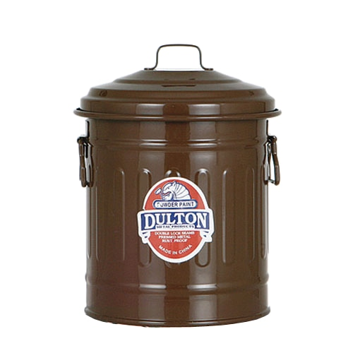 BABY GARBAGE CAN BROWN