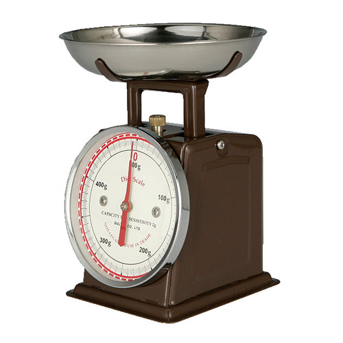DIET SCALE BROWN