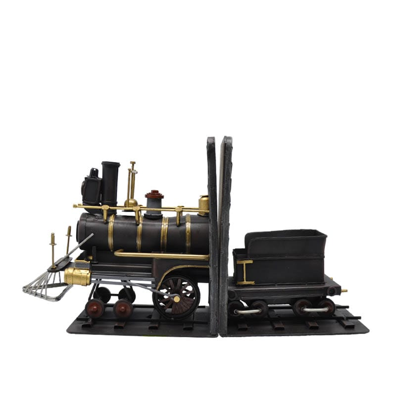 "BOOKENDS ""STEAM LOCOMOTIVE"""