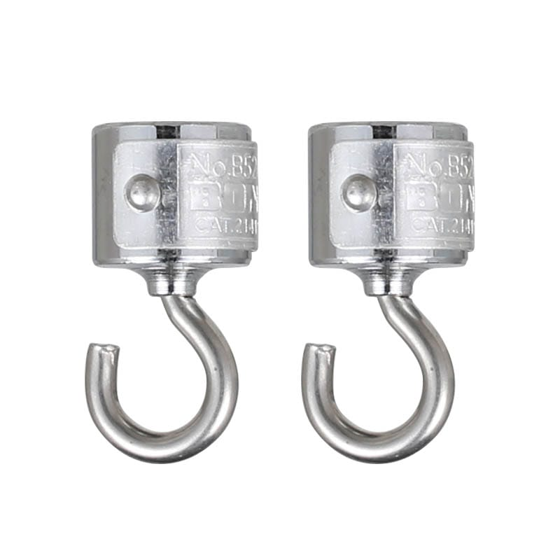 MAGNETIC HOOK S/2 CHROME