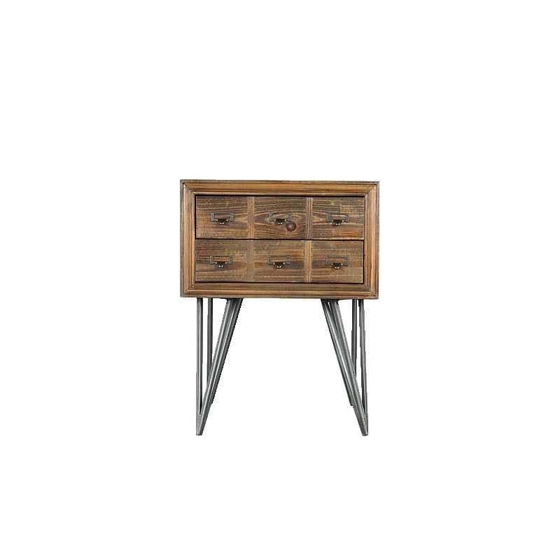 CRAIG'' FIR SIDE TABLE