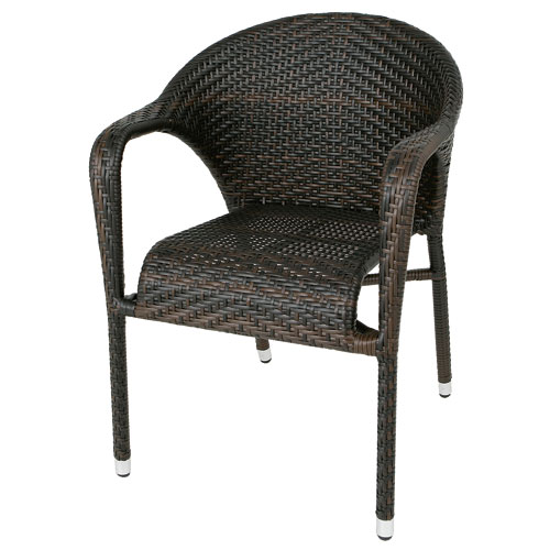 WEAVING CHAIR BROWN