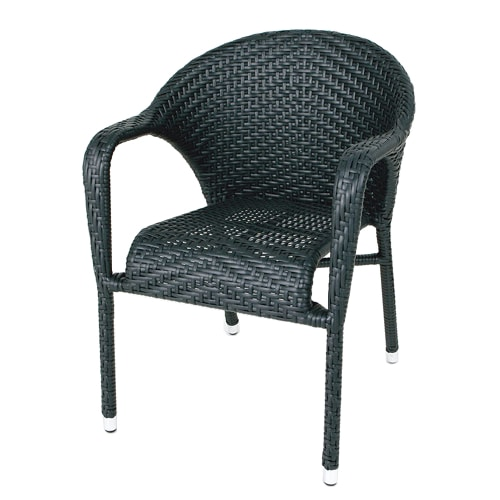 WEAVING CHAIR BLACK