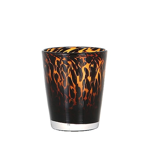 GLASS CUP GENTLEMEN TORTOISE A-AM
