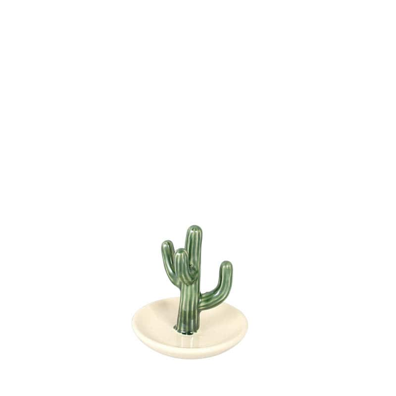CACTUS RING HOLDER w/TRAY