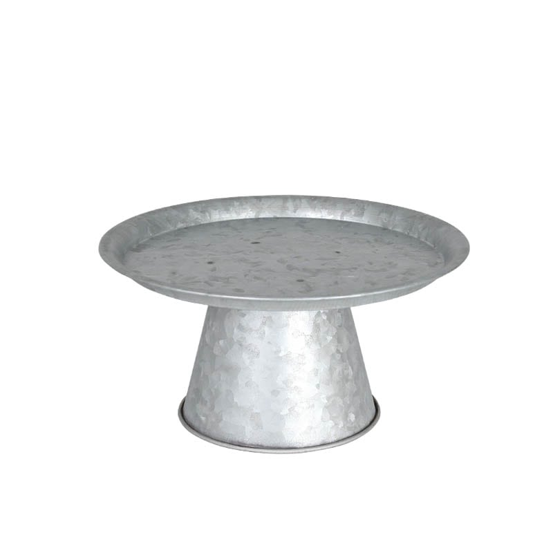 TIN TRAY STAND