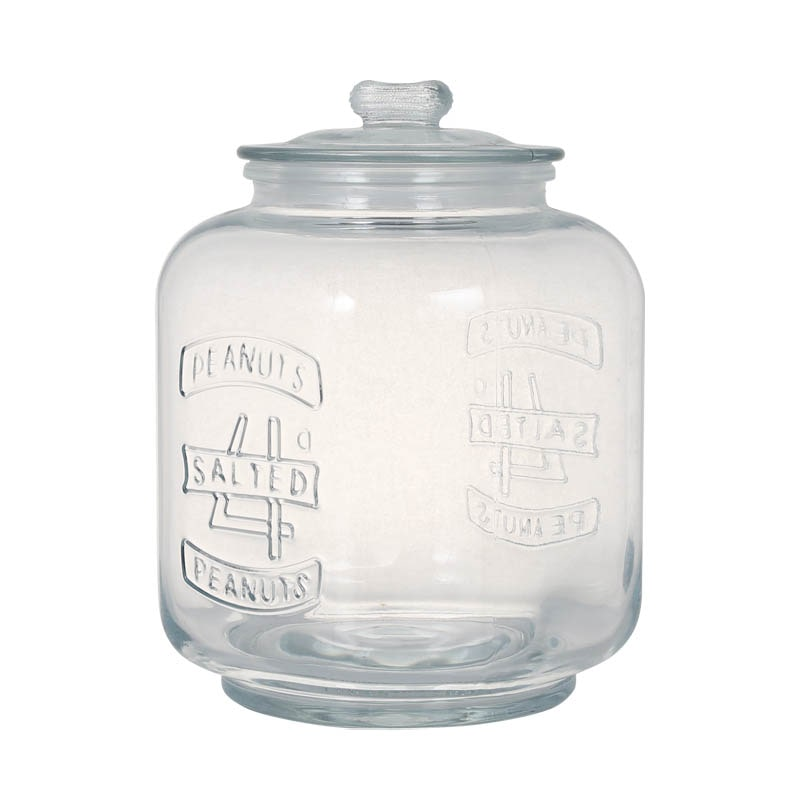 GLASS COOKIE JAR 5L