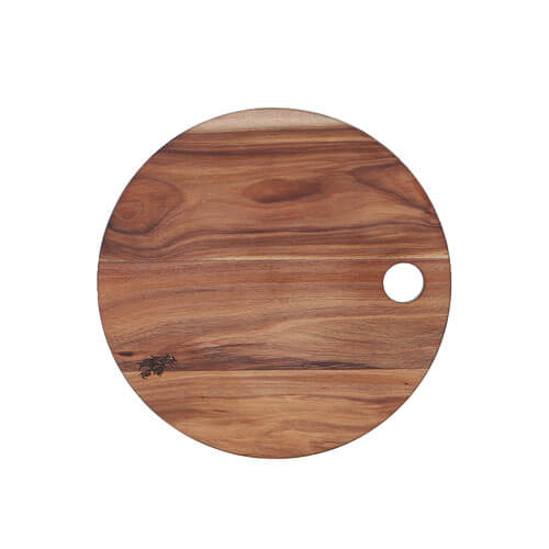 ACACIA CUTTING BOARD ROUND