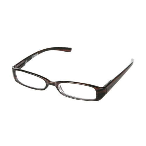 READING GLASSES  BROWN  1.0