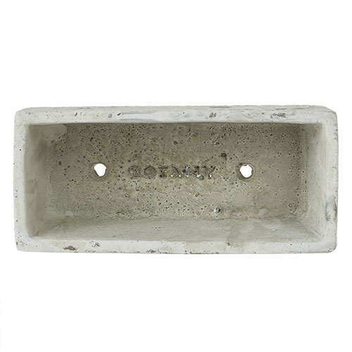 SOLID PLANTER RECTANGLE S R.GRAY