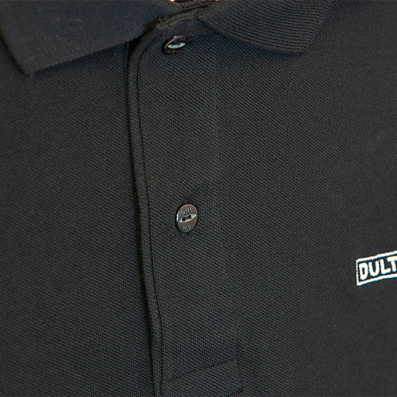 DULTON 30th-Aniv POLO-SHIRTS BLACK M