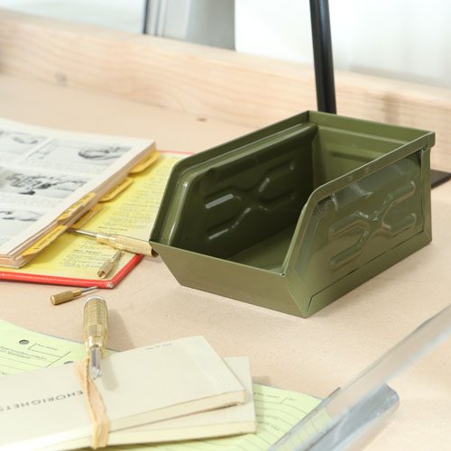 MINI PARTS BOX OLIVE DRAB