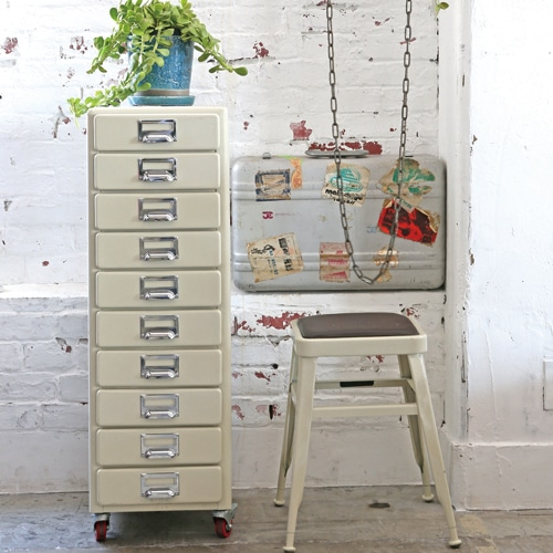 10 DRAWERS CHEST GRAY