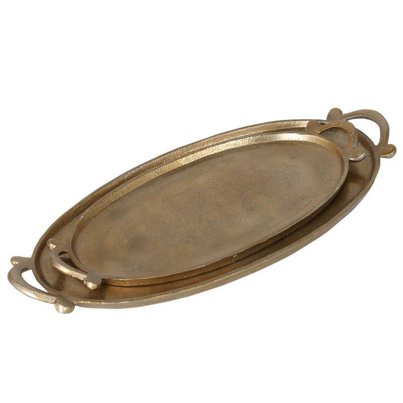E.P.HOTEL OVAL TRAY M GOLD