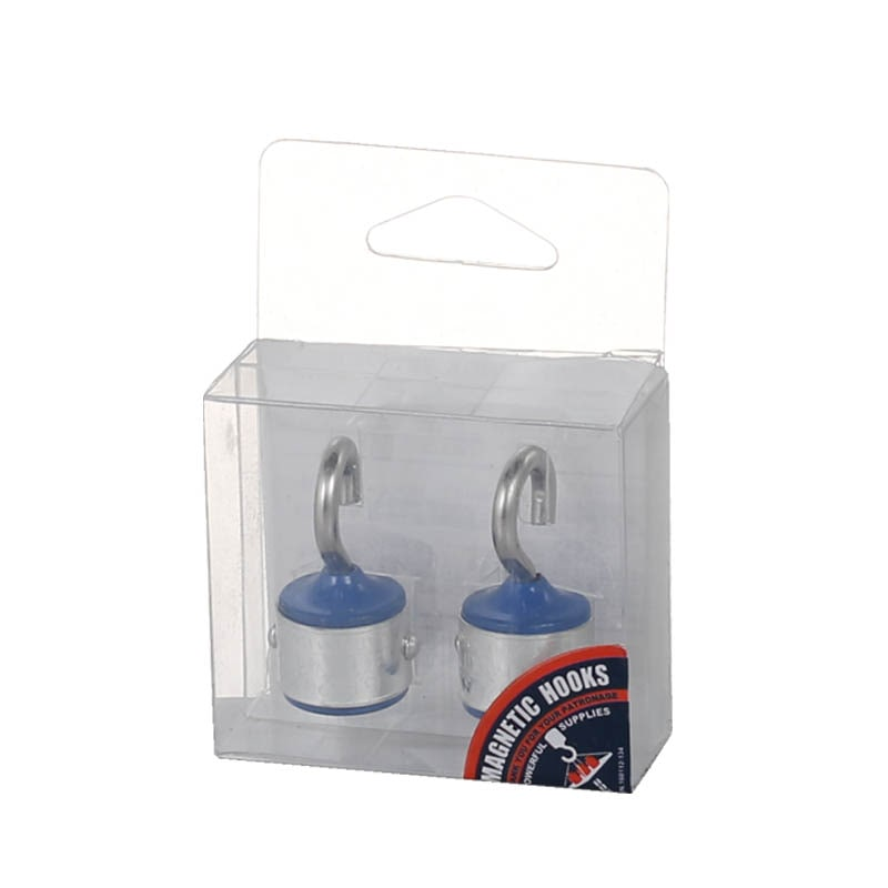 MAGNETIC HOOK SET OF 2 BLUE