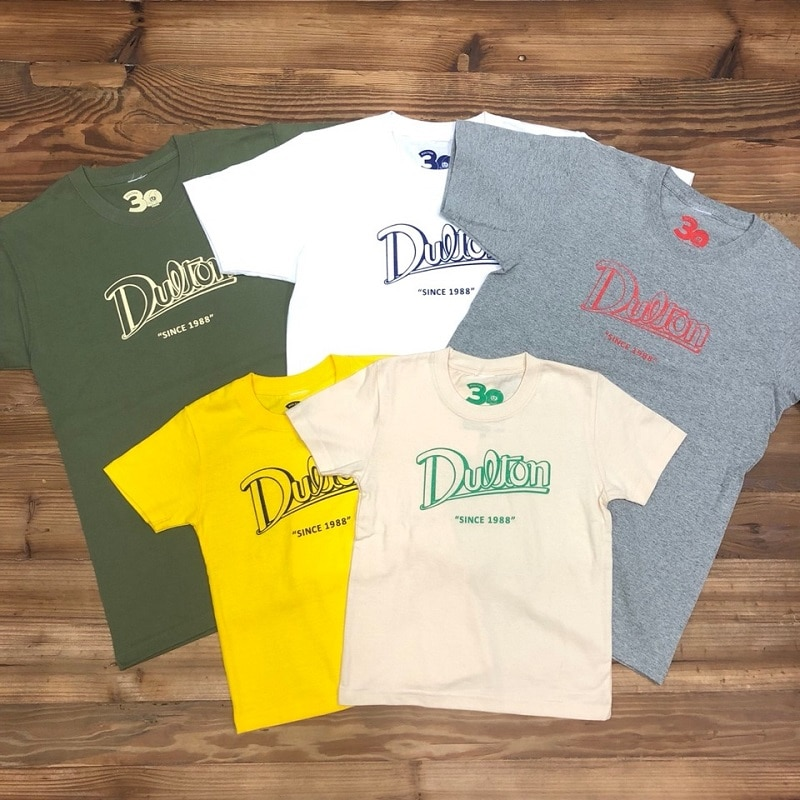 DULTON 30th-Anniversary T-SHIRTS WHITE M
