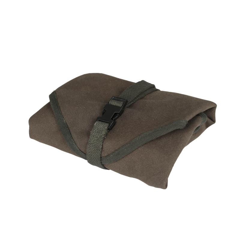 CANVAS LUNCH CLOTH WITH BELT OLIVE