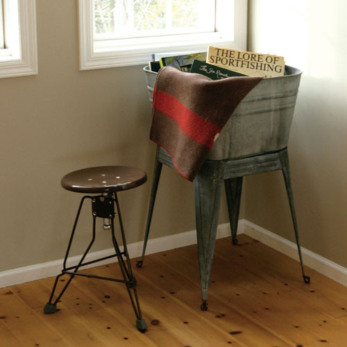 STOOL ''CLIPPER II''  BROWN