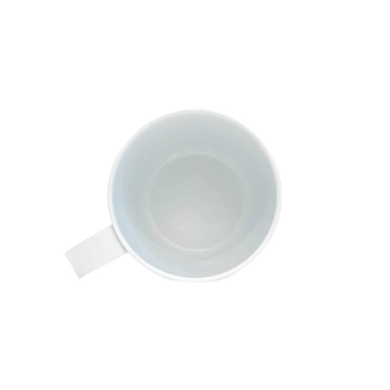 GARGLE CUP WHITE/RED