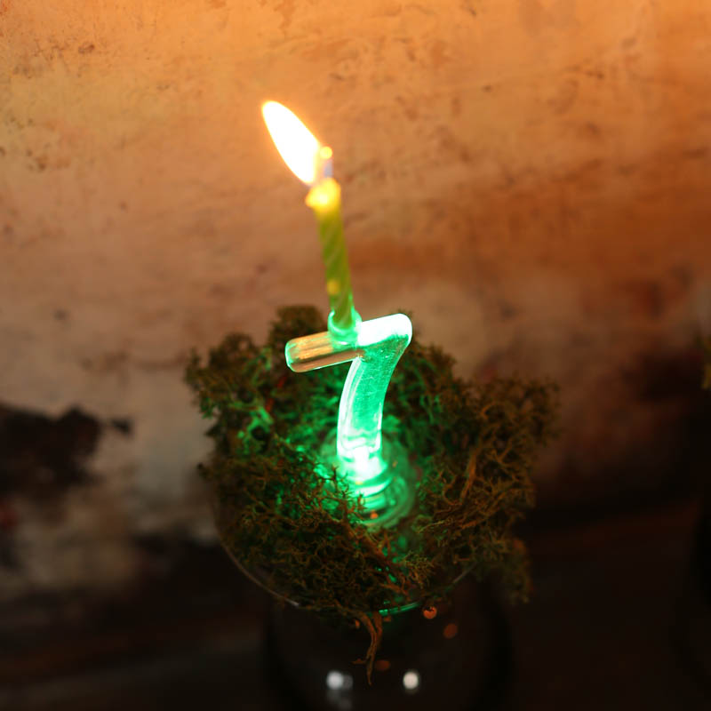 LED BIRTHDAY NUMBER CANDLE 3