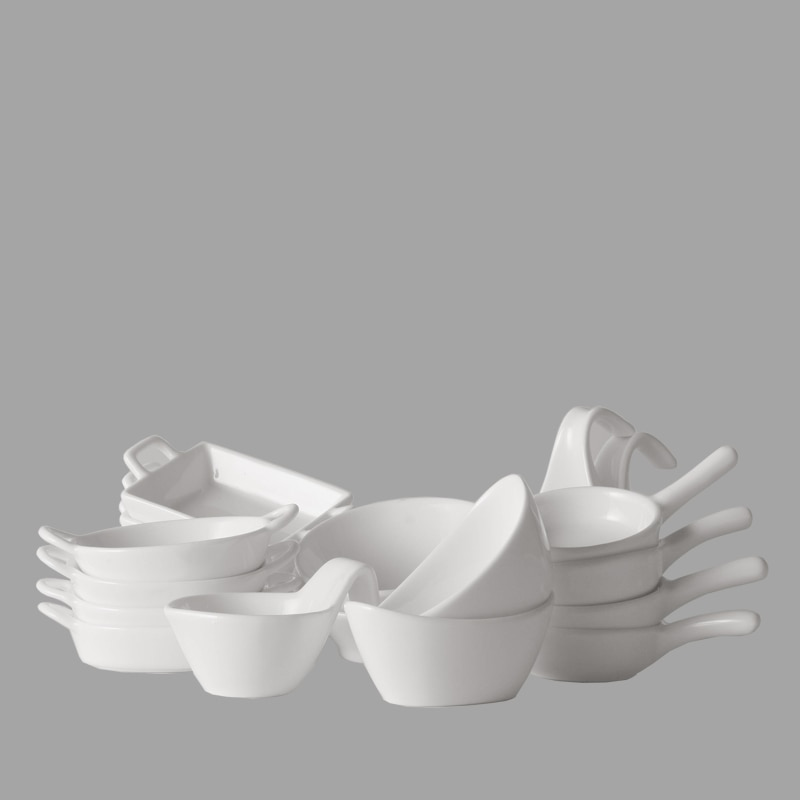HANDLE BOWL SET OF 4