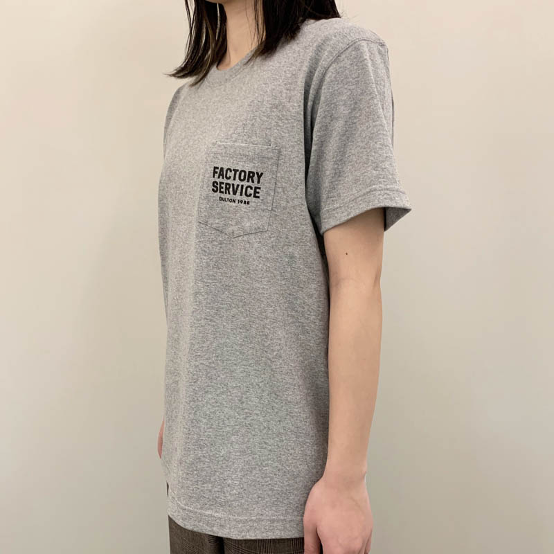 Factory Service T-SHIRTS GRAY M