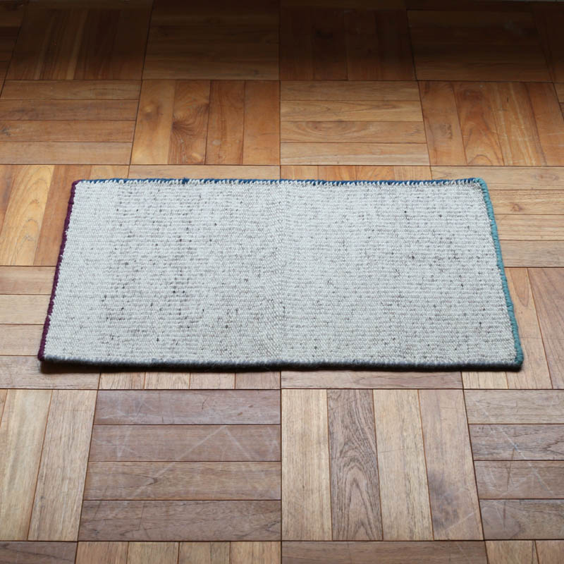 FRAMED WOOL MAT 450x750 NATURAL×PGLB