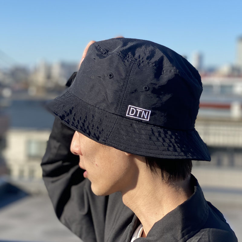 DTN BUCKET HAT BLACK