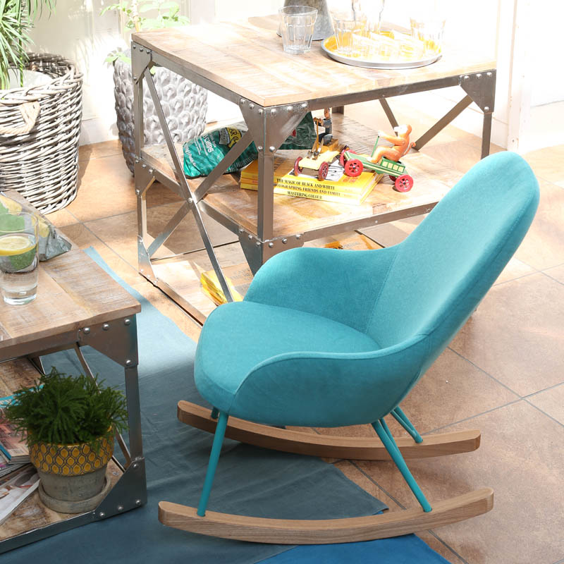 """ROCKING CHAIR S ""CAPRI BLUE"""""""