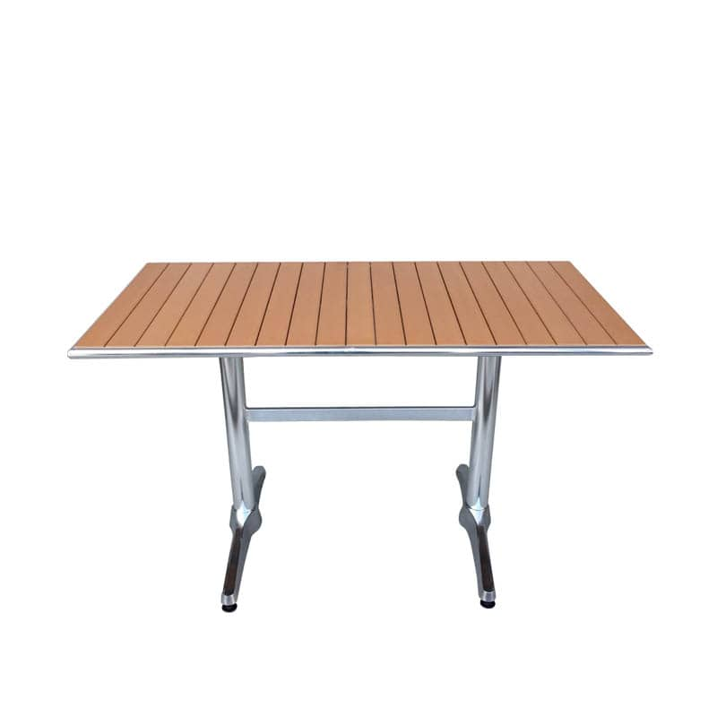 ALUMINUM RECTANGLE TABLE LBR