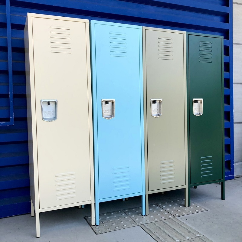 STEEL LOCKER SAX BLUE